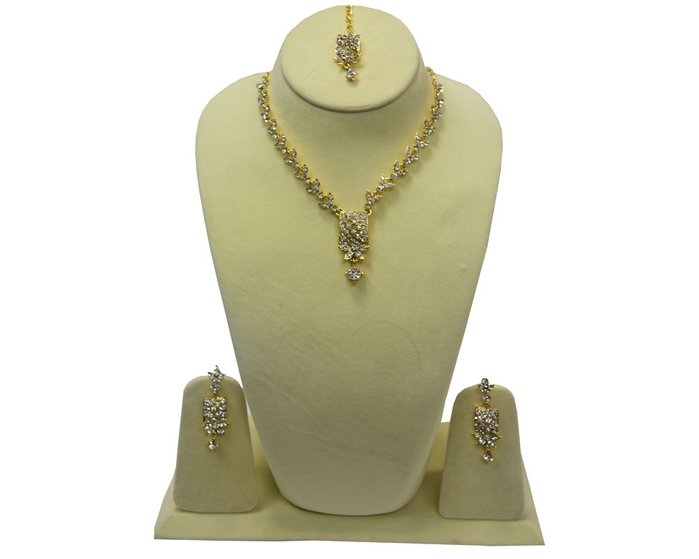 Beads India Pristine Necklace Set 300916