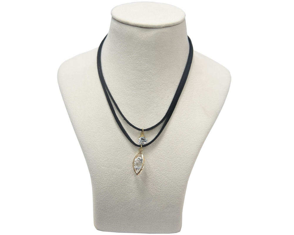 Beads India Anthracite Necklace 031016