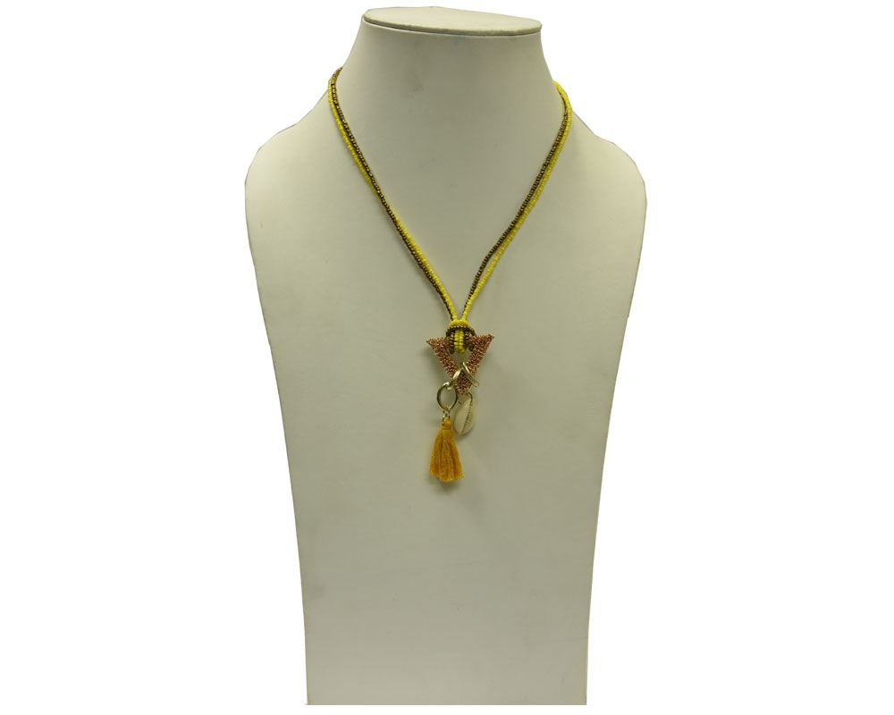 Beads India Amber 09112016 Necklace