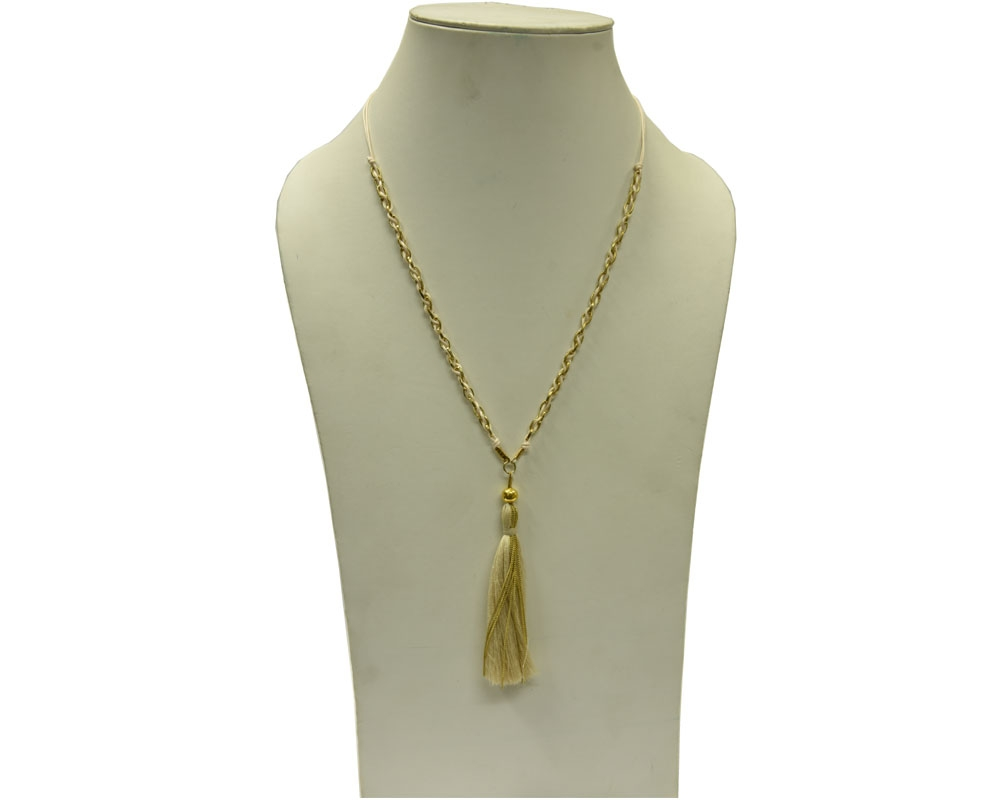 Beads India Bleached Sand 09112016 Necklace