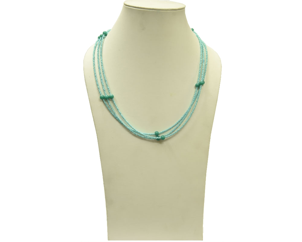 Beads India Angel Blue 12112016 Necklace