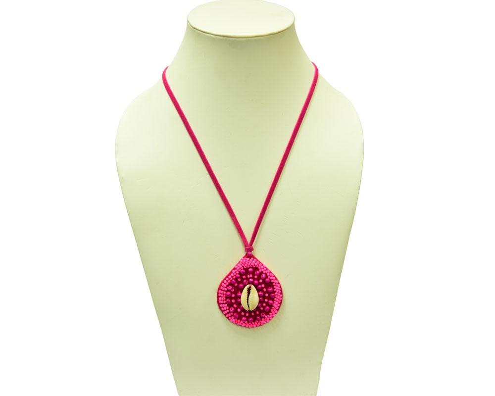 Beads India Hot Pink 1404376 Necklace