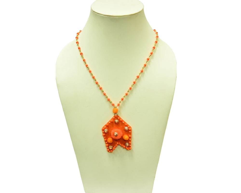 Beads India Nectarine 1404379 Necklace