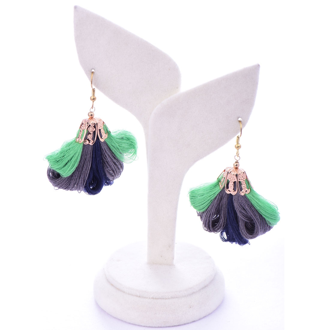 Beads India Brindle 1404485 Earrings