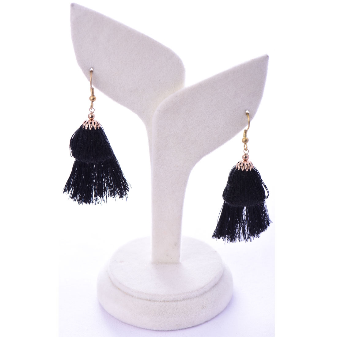 Beads India Anthracide 1404487 Earrings
