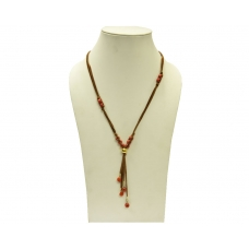Beads India Pecan Brown 16112016 Necklace