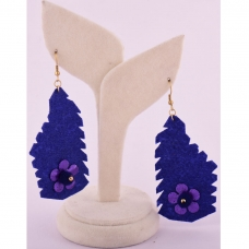 Beads India Deep Ultrmarine 1404427 Earrings