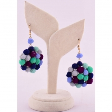 Beads India Twilight Blue 1404440 Earrings