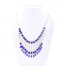 Beads India Deep Ultramarine  1404536 Necklace