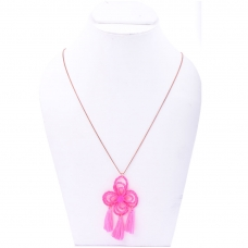 Beads India Flamingo Pink 1404539 Necklace