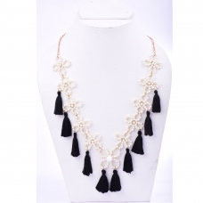 Beads India Jet Black 1404559 Necklace