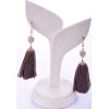 Beads India Burlwood 1404521 Earrings