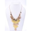 Beads India Misted Yellow 1404549 Necklace
